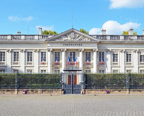 Préfecture de Nantes pour dépôt auprès de l'urbanisme