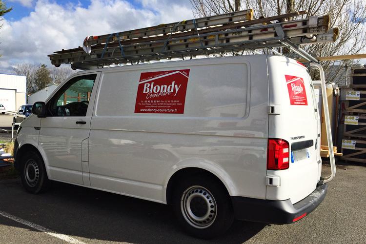 Adhésif utilitaire, marquage voiture et camion » Label Enseigne