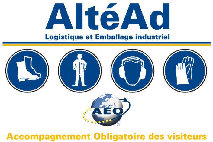 Panneau de sécurité pour AltéAd