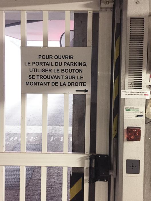 Signalétique de syndic portail pharmacie de la Chapelle sur Erdre (44)