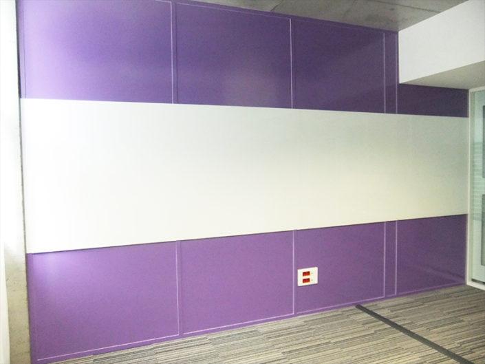 Adhésif tout format - Habillage de mur dans les locaux d'OVH à Nantes (44)